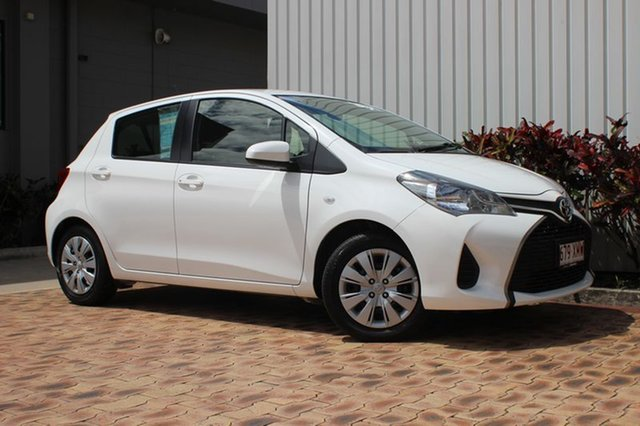 Used Toyota Yaris Ascent, Cairns, 2016 Toyota Yaris Ascent Hatchback