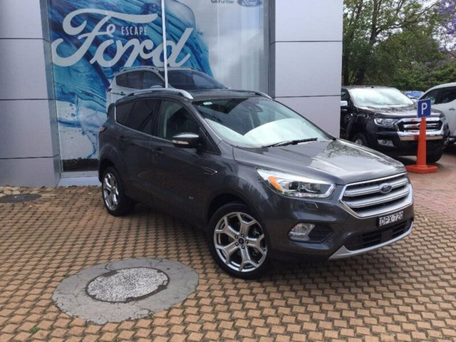 Demonstrator, Demo, Near New Ford Escape Titanium AWD, Warwick Farm, 2016 Ford Escape Titanium AWD Wagon