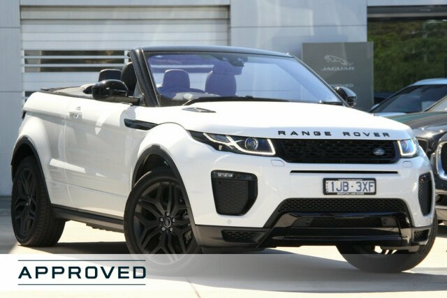 Discounted Demonstrator, Demo, Near New Land Rover Range Rover Evoque TD4 180 HSE Dynamic, Gardenvale, 2017 Land Rover Range Rover Evoque TD4 180 HSE Dynamic Convertible