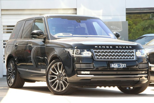 Discounted Demonstrator, Demo, Near New Land Rover Range Rover SDV8 Vogue SE, Gardenvale, 2017 Land Rover Range Rover SDV8 Vogue SE Wagon