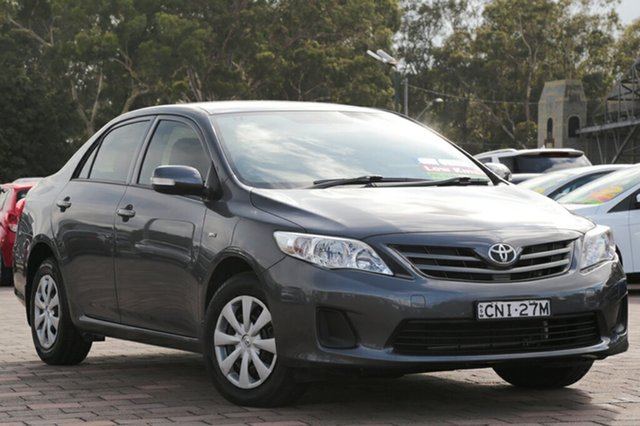 Used Toyota Corolla Ascent, Warwick Farm, 2012 Toyota Corolla Ascent Sedan