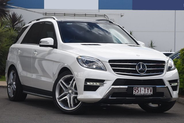 Used Mercedes-Benz ML400 7G-Tronic +, Bowen Hills, 2014 Mercedes-Benz ML400 7G-Tronic + Wagon