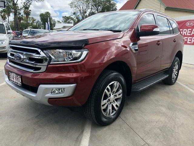 Discounted Used Ford Everest Trend 4WD, Toowoomba, 2015 Ford Everest Trend 4WD Wagon