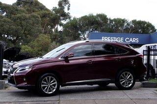 2012 Lexus RX350 Sports Luxury Wagon.