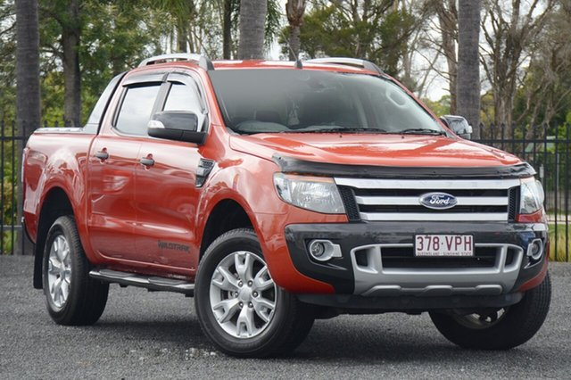 Used Ford Ranger Wildtrak Double Cab, Beaudesert, 2015 Ford Ranger Wildtrak Double Cab Utility