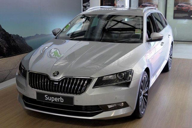 Demonstrator, Demo, Near New Skoda Superb 206TSI DSG, Bowen Hills, 2018 Skoda Superb 206TSI DSG Wagon
