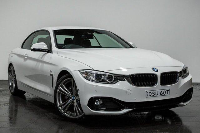 Used BMW 430i Sport Line, Rozelle, 2017 BMW 430i Sport Line Convertible