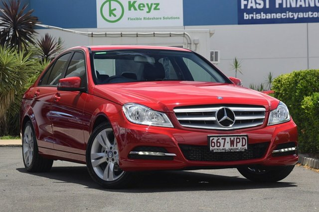 Used Mercedes-Benz C200 7G-Tronic +, Bowen Hills, 2013 Mercedes-Benz C200 7G-Tronic + Sedan