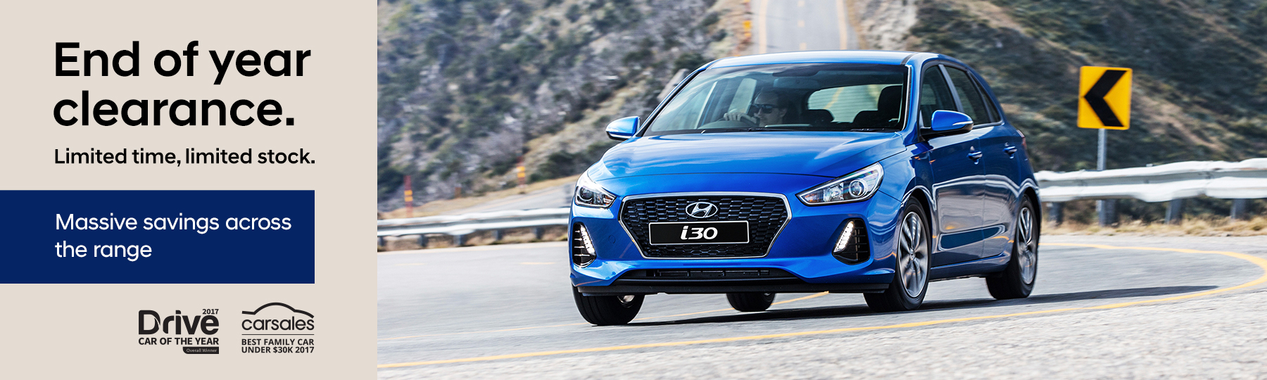 Hyundai - National Offer - End Of Year Clearance