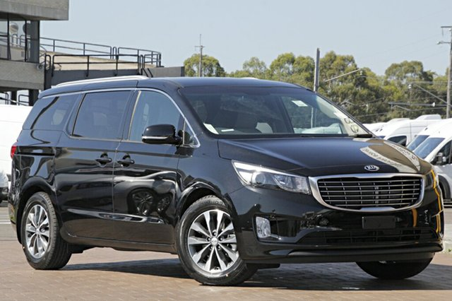 Demonstrator, Demo, Near New Kia Carnival SLi, Warwick Farm, 2017 Kia Carnival SLi Wagon