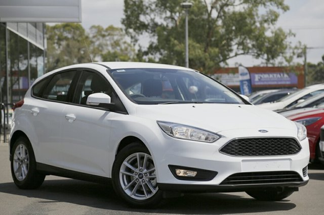 Discounted Demonstrator, Demo, Near New Ford Focus Trend, Narellan, 2017 Ford Focus Trend Hatchback