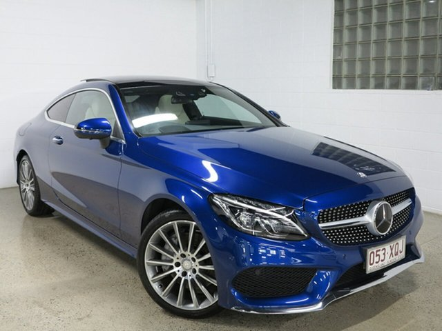 Used Mercedes-Benz C300 7G-Tronic +, Albion, 2016 Mercedes-Benz C300 7G-Tronic + Coupe