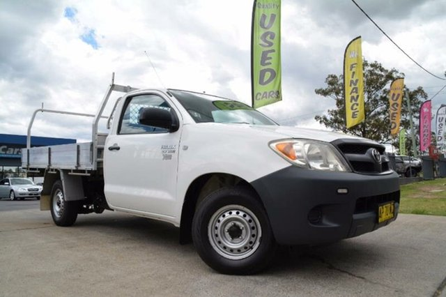 Used Toyota Hilux Workmate, Mulgrave, 2007 Toyota Hilux Workmate Cab Chassis