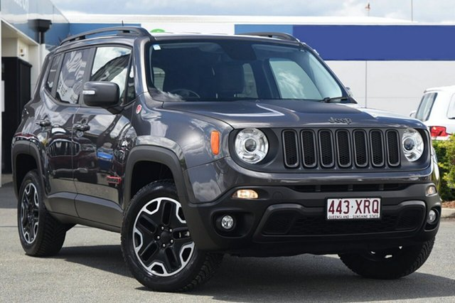 Used Jeep Renegade Trailhawk AWD, Bowen Hills, 2016 Jeep Renegade Trailhawk AWD Hatchback