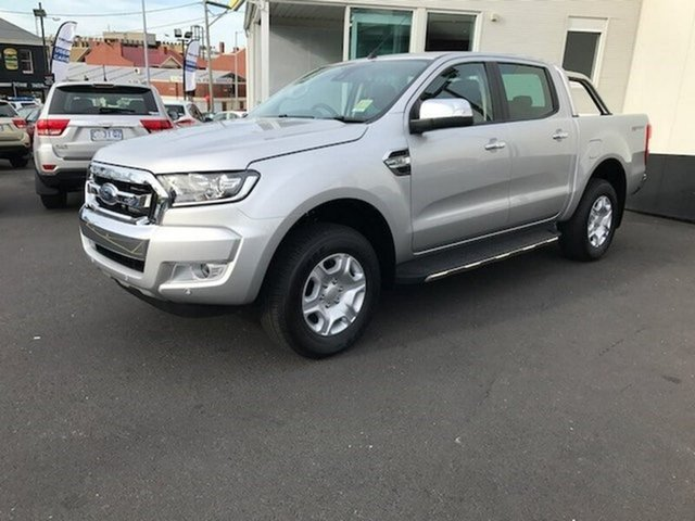 Demonstrator, Demo, Near New Ford Ranger XLT Double Cab 4x2 Hi-Rider, Hobart, 2017 Ford Ranger XLT Double Cab 4x2 Hi-Rider Utility