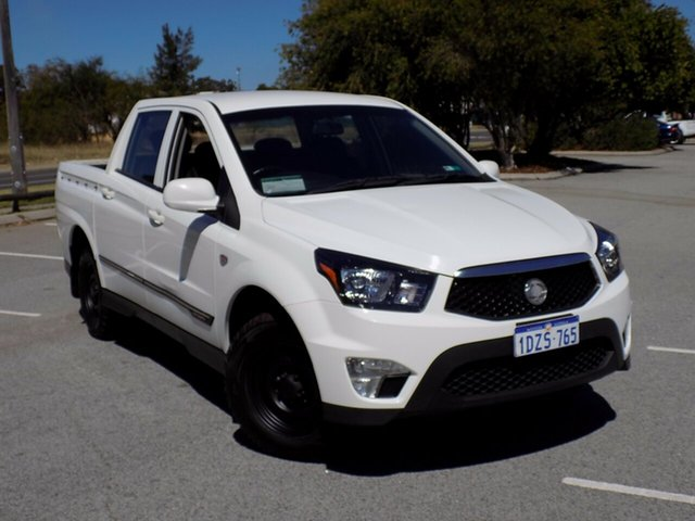 Used Ssangyong Actyon Sports Tradie 4x2, Maddington, 2012 Ssangyong Actyon Sports Tradie 4x2 Utility