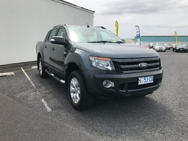 Used Ford Ranger Wildtrak Double Cab, Hobart, 2015 Ford Ranger Wildtrak Double Cab Utility