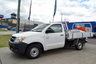 2007 Toyota Hilux Workmate Cab Chassis.