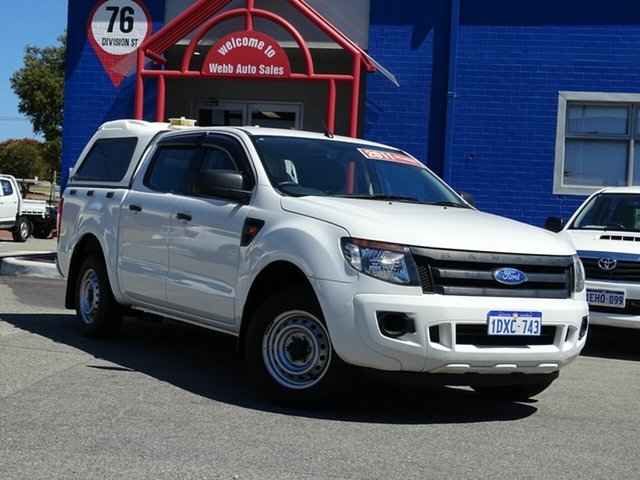 Discounted Used Ford Ranger XL Double Cab 4x2, Welshpool, 2011 Ford Ranger XL Double Cab 4x2 Utility