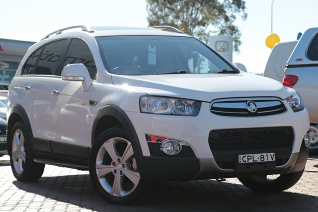 Used Holden Captiva 7 AWD LX, Narellan, 2013 Holden Captiva 7 AWD LX SUV
