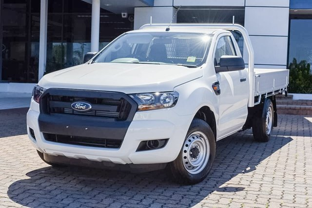 Discounted Demonstrator, Demo, Near New Ford Ranger XL 4x2, Southport, 2017 Ford Ranger XL 4x2 Cab Chassis