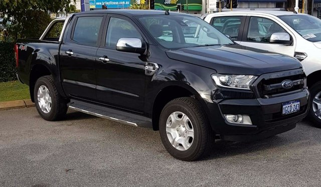 Demonstrator, Demo, Near New Ford Ranger XLT Double Cab, Morley, 2016 Ford Ranger XLT Double Cab Utility