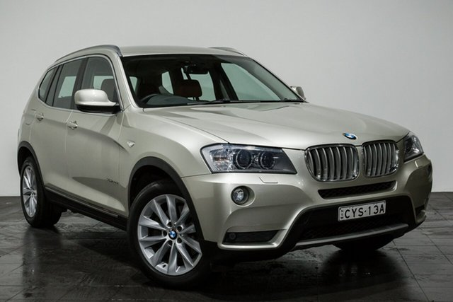 Used BMW X3 xDrive30d Steptronic, Rozelle, 2011 BMW X3 xDrive30d Steptronic Wagon