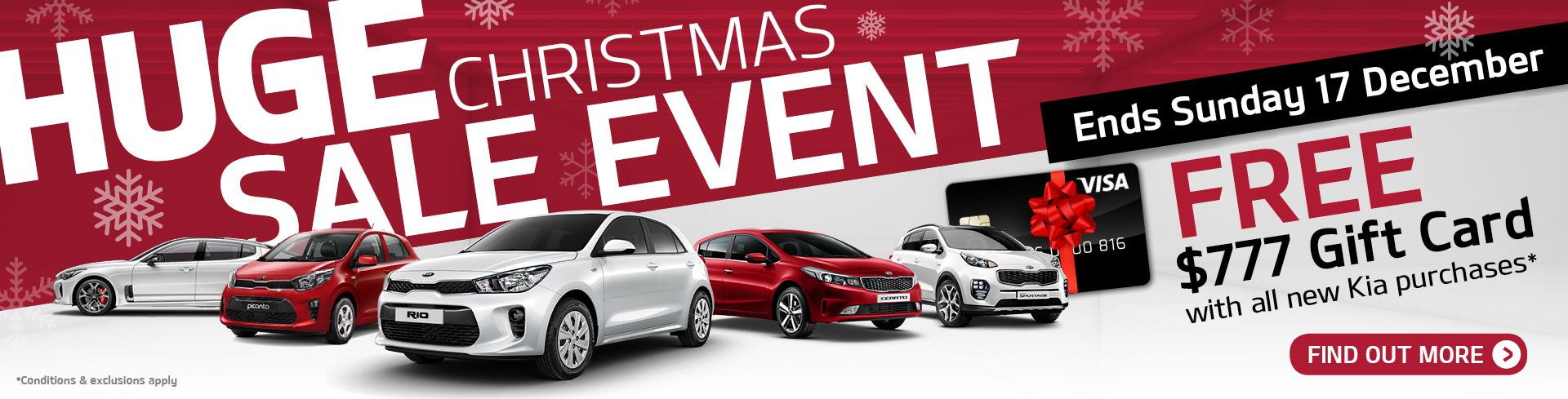 Peter Warren Kia Huge Christmas Sale Event