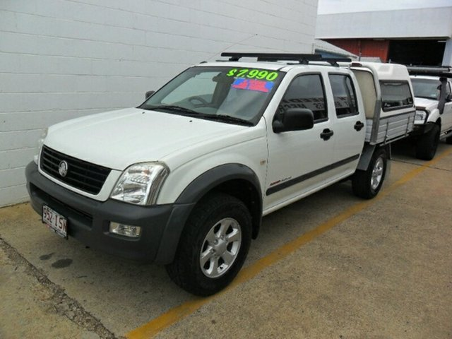 Used Holden Rodeo LX Crew Cab, Redcliffe, 2004 Holden Rodeo LX Crew Cab Cab Chassis