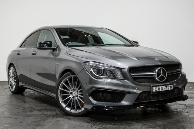 Used Mercedes-Benz CLA45 AMG SPEEDSHIFT DCT 4MATIC, Rozelle, 2014 Mercedes-Benz CLA45 AMG SPEEDSHIFT DCT 4MATIC Coupe