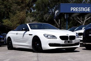 2011 BMW 650i Steptronic Convertible.