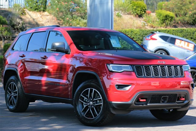 Discounted Demonstrator, Demo, Near New Jeep Grand Cherokee Trailhawk, Southport, 2017 Jeep Grand Cherokee Trailhawk SUV