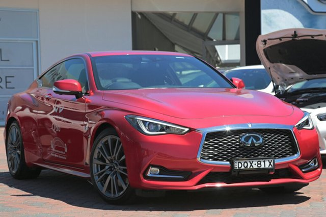 Discounted Demonstrator, Demo, Near New Infiniti Q60 Red Sport, Southport, 2017 Infiniti Q60 Red Sport Coupe