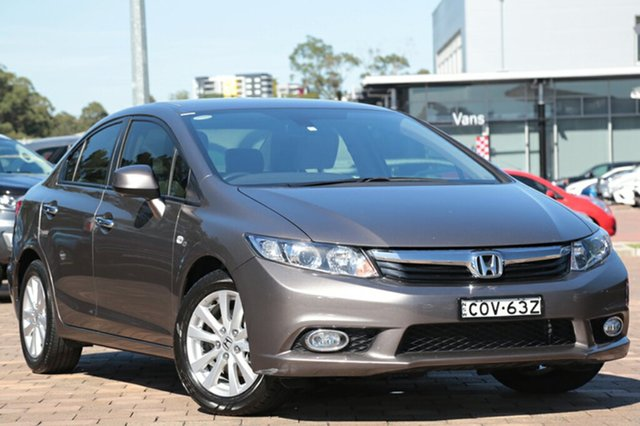Used Honda Civic VTi-L, Warwick Farm, 2012 Honda Civic VTi-L Sedan