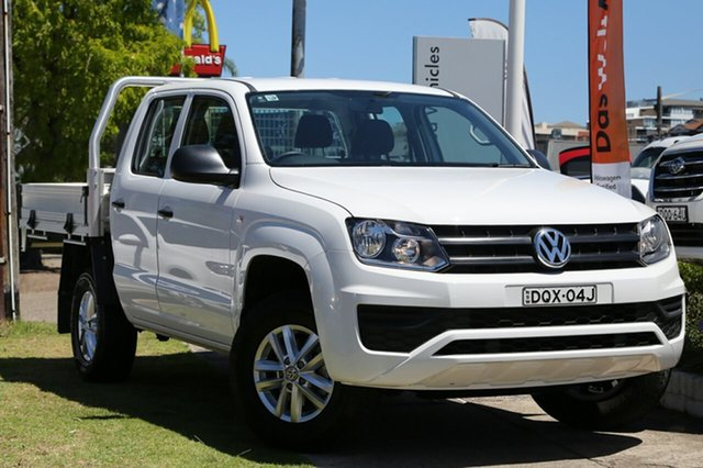 Used Volkswagen Amarok TDI420 4MOTION Perm Core, Waitara, 2017 Volkswagen Amarok TDI420 4MOTION Perm Core Cab Chassis