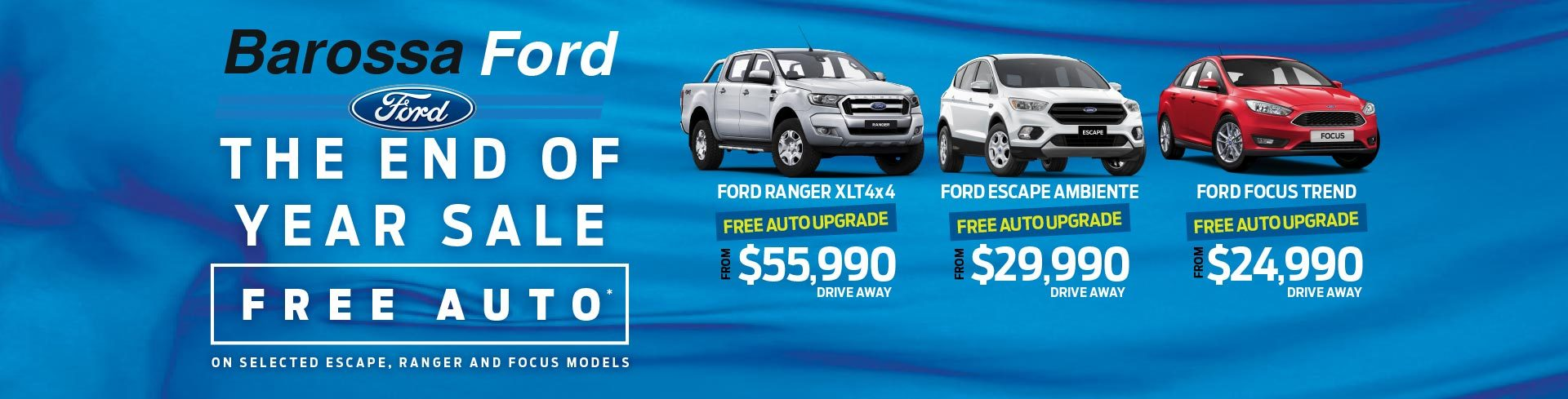 Barossa Ford Local Specials