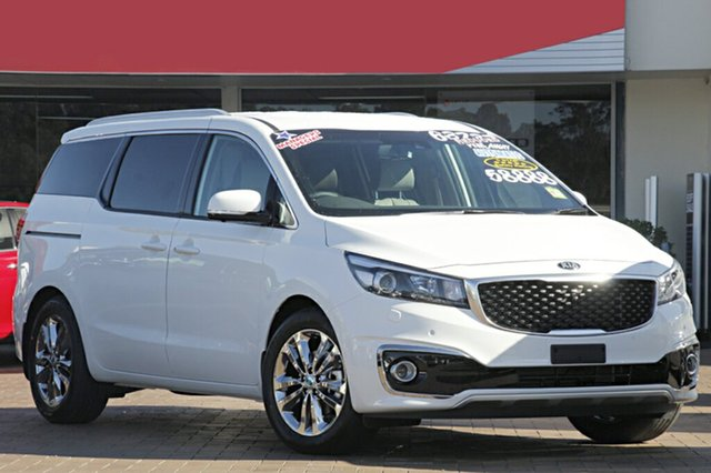 Demonstrator, Demo, Near New Kia Carnival Platinum, Warwick Farm, 2017 Kia Carnival Platinum Wagon