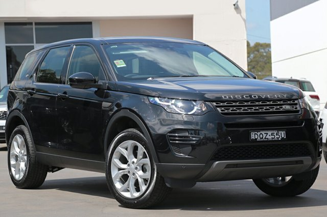 Demonstrator, Demo, Near New Land Rover Discovery Sport TD4 110kW SE, Narellan, 2017 Land Rover Discovery Sport TD4 110kW SE SUV