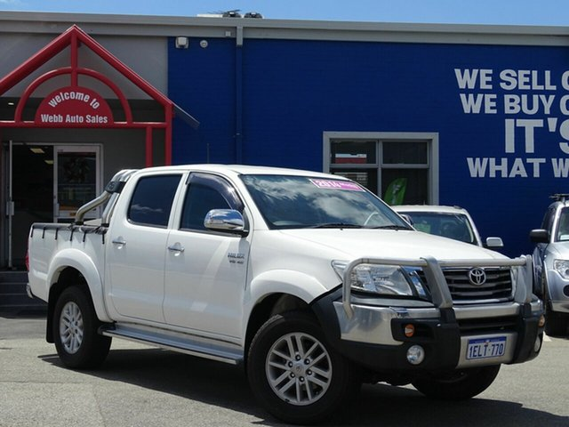Discounted Used Toyota Hilux SR5 Double Cab, Welshpool, 2014 Toyota Hilux SR5 Double Cab Utility