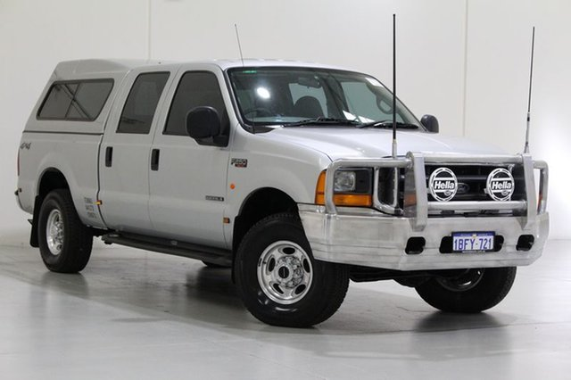 Used Ford F250 XLT (4x4), Bentley, 2002 Ford F250 XLT (4x4) Crew Cab Pickup
