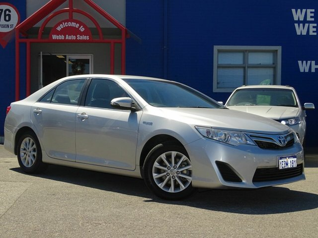 Discounted Used Toyota Camry Hybrid H, Welshpool, 2014 Toyota Camry Hybrid H Sedan