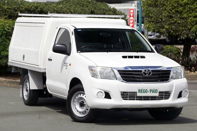 Used Toyota Hilux SR, Acacia Ridge, 2012 Toyota Hilux SR KUN16R MY12 Cab Chassis