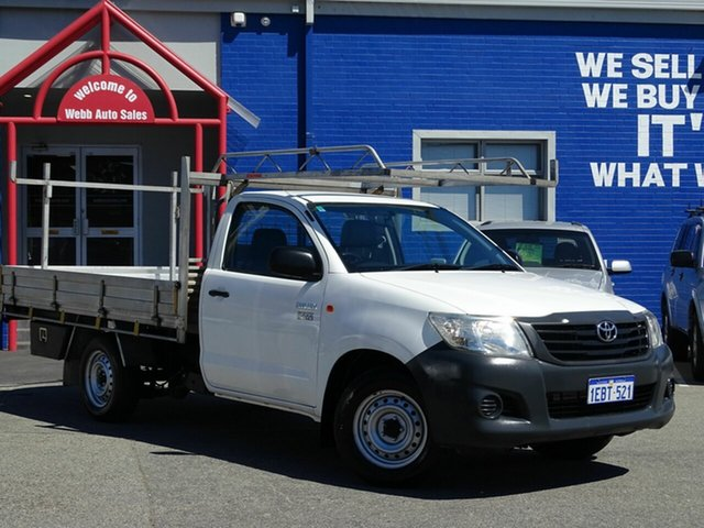 Discounted Used Toyota Hilux Workmate, Welshpool, 2012 Toyota Hilux Workmate Cab Chassis