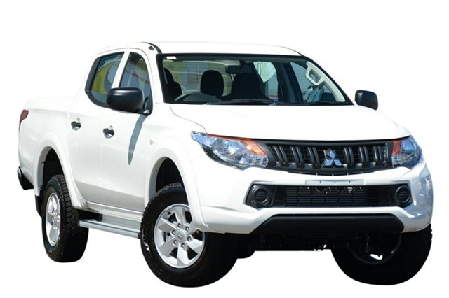 Demonstrator, Demo, Near New Mitsubishi Triton GLX+ Double Cab, Beaudesert, 2018 Mitsubishi Triton GLX+ Double Cab Utility