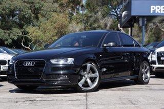 2014 Audi A4 S Line S tronic quattro Sedan.