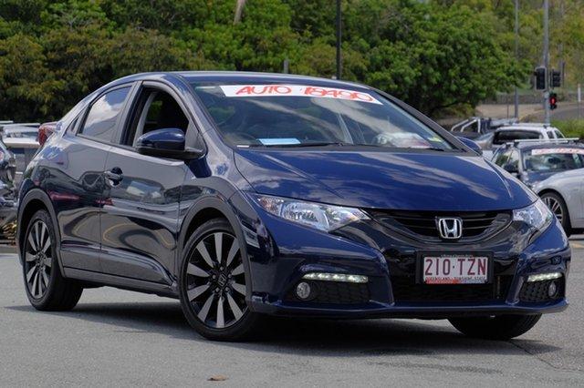 Used Honda Civic VTi-LN, Moorooka, Brisbane, 2014 Honda Civic VTi-LN Hatchback