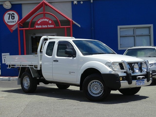 Discounted Used Nissan Navara RX King Cab, Welshpool, 2012 Nissan Navara RX King Cab Cab Chassis