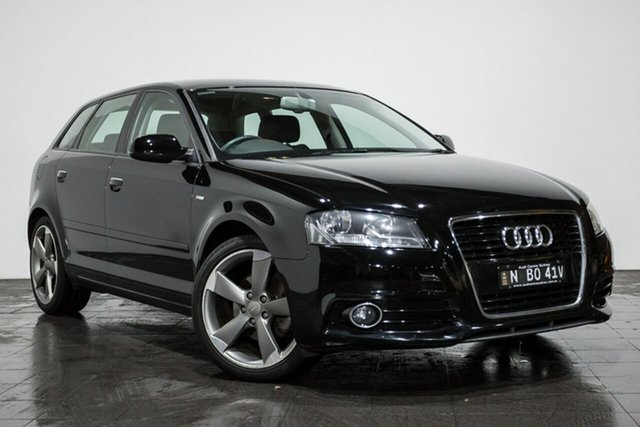 Used Audi A3 Ambition Sportback S tronic, Rozelle, 2012 Audi A3 Ambition Sportback S tronic Hatchback