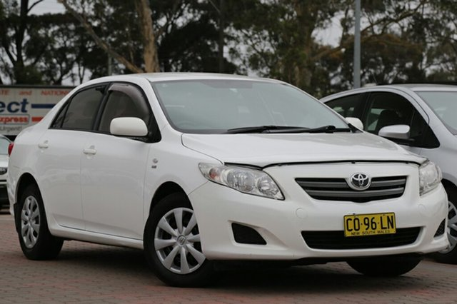 Used Toyota Corolla Ascent, Warwick Farm, 2009 Toyota Corolla Ascent Sedan