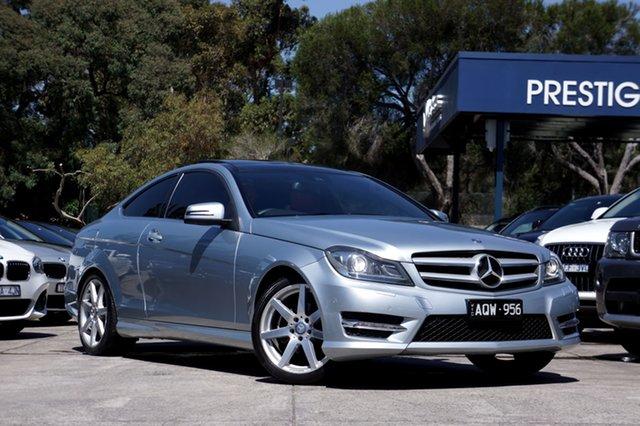 Used Mercedes-Benz C250 7G-Tronic +, Balwyn, 2013 Mercedes-Benz C250 7G-Tronic + Coupe